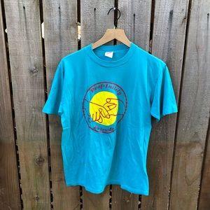 Vintage Deaf Men's 90s Graphic Shirt